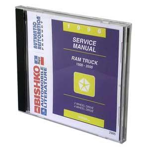 DODGE RAM FACTORY SERVICE MANUAL - CD ('96)