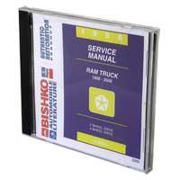 1996 Dodge Ram Factory Service Manual CD