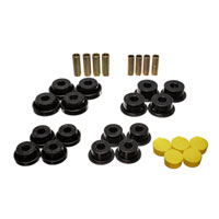 CONTROL ARM BUSHING SET - ENERGY SUSPENSION -  FRONT - BLACK  ('99 - '02, 2500/3500 - 4WD)