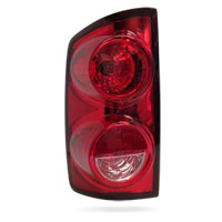 TAIL LIGHT - NON-LED - DRIVER SIDE - MOPAR ('07-'09, 2500/3500)
