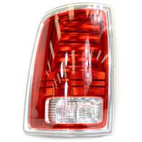 TAIL LIGHT - LED - DRIVER - MOPAR ('13-'18, 1500/2500/3500 W/CHROME HOUSING)