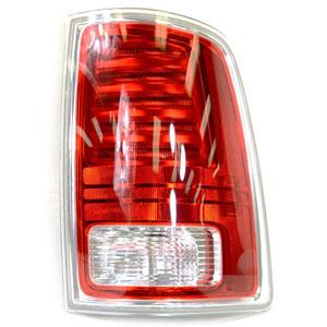 TAIL LIGHT - LED - PASSENGER - MOPAR ('13-'18, 1500/2500/3500 W/CHROME HOUSING)