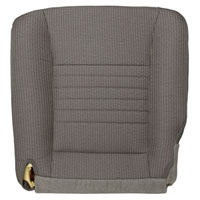 FACTORY-MATCH BOTTOM SEAT COVER - KHAKI - CLOTH - DRIVER SIDE 40/20/40 ('06-'09, 2500/3500 ST, ALL CABS & '06-'08, 1500, MEGA CAB)