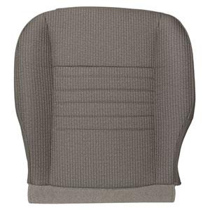 FACTORY-MATCH BOTTOM SEAT COVER - KHAKI - CLOTH - DRIVER SIDE ('06-'08, 1500, REG & QUAD CAB)