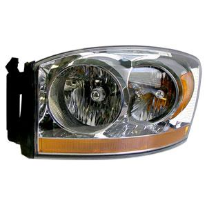 HEADLIGHT - DRIVER SIDE - MOPAR ('06, 1500/2500/3500)