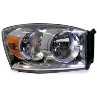 HEADLIGHT - PASSENGER SIDE - MOPAR ('07-'09, 2500/3500)