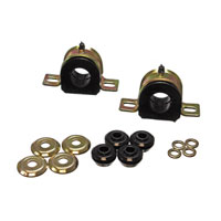 SWAY BAR FRAME BUSHINGS - ENERGY SUSPENSION -  BLACK ('94 - '12,  30MM)