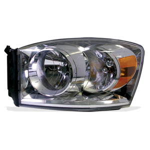 HEADLIGHT - DRIVER SIDE - MOPAR ('07-'09, 2500/3500)