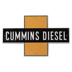 SIGN - CUMMINS HISTORIC TIN TACKER