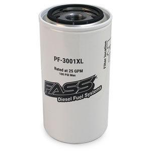 FUEL FILTER - WATER SEPARATOR 150 SERIES - FASS