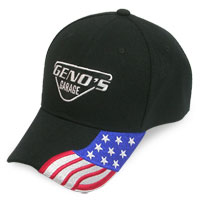 Geno's Garage Salute to America Ball Cap