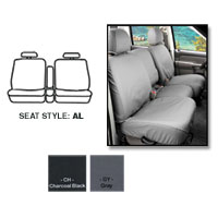 SEATSAVERS - FRONT- COVERCRAFT ('19-'21, 1500, ALL CABS) 40/20/40, W/ADJ HDRST, FOLD DOWN CONSOLE