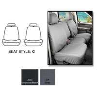 SEATSAVERS - FRONT- COVERCRAFT ('19-'21, 1500, ALL CABS) BUCKET SEATS, W/ADJ HDRST, SEAT AIRBAGS