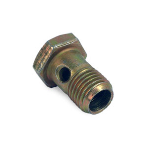 FUEL RAIL OVERFLOW VALVE BANJO BOLT- 14MM - CUMMINS ('03-'07, 5.9L)
