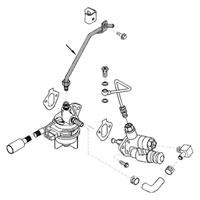 Cummins Fuel Supply Line Pre-Heater - 3923090