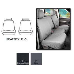 SEATSAVERS - FRONT - COVERCRAFT ('19, LARAMIE - ALL CABS) BUCKETS W/ ADJ HDRST, SEAT AIRBAGS