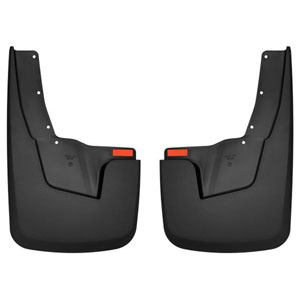 MUD GUARDS - HUSKY LINERS - REAR ('19-'20, 1500 - W/OEM FENDER FLARES