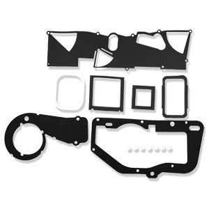 GASKET SET, A/C HEATER BOX REBUILD & RESTO SEAL SET ('81-'93, 150/250/350)