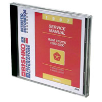 DODGE RAM FACTORY SERVICE MANUAL - CD ('97)