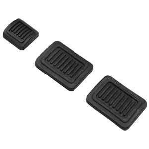 MANUAL TRANS BRAKE PEDAL PAD SET ('72-'91, 150/250/350)
