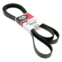 '03-'12, 6.7L Dodge Cummins GATES Serpentine Belt - A/C