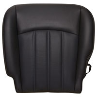 FACTORY-MATCH BOTTOM SEAT COVER (DARK SLATE) - ALL LEATHER - DRIVER SIDE 40/20/40 ('10-'12, 2500/3500 LARAMIE, ALL CABS)