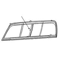 Dodge Ram Sliding Rear Window Latch 4773094AB