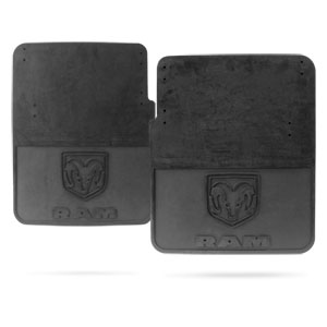 SPASH GUARDS - MOPAR - HEAVY DUTY - REAR ('10-'18, 3500 DRW)