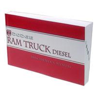 DODGE RAM OWNER'S MANUAL ('06, 2500/3500 - DIESEL)