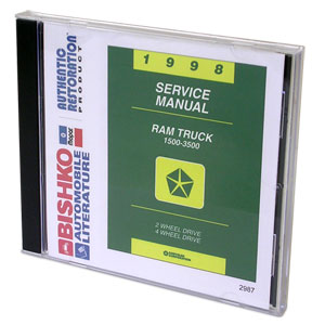 DODGE RAM FACTORY SERVICE MANUAL - CD ('98)