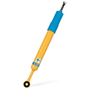 SHOCK - REAR - BILSTEIN - 4600 (YELLOW/BLUE) ('19-'21, 2500, 4WD) W/REAR LEVELING SUSPENSION
