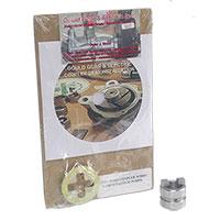 WABCO VACUUM PUMP/POWER STEERING PUMP COUPLER GEAR, COOPLER DISC & DVD (91.5-02)