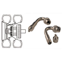 STEM EXTENSIONS - AIR PLUS - OUTER VALVE - PAIR