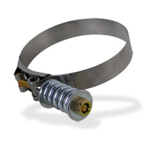 "HI-TORQUE INTERCOOLER HOSE CLAMP - BD  (4.00"")"