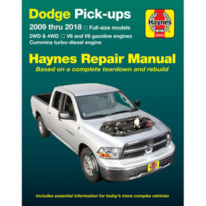 REPAIR MANUAL - HAYNES  ('09-'18, 6.7L)