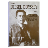 BOOK - THE DIESEL ODYSSEY OF CLESSIE CUMMINS