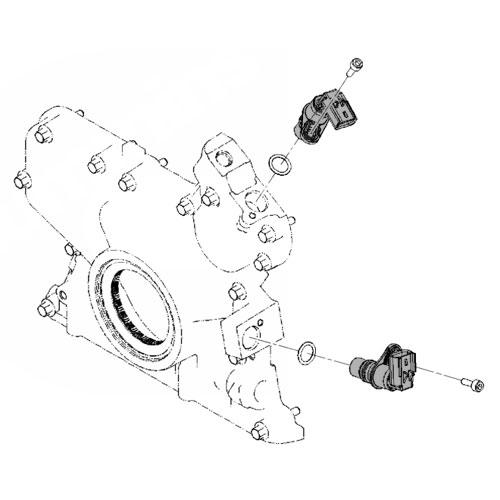 03 18 Dodge Cummins Diesel Crankcam Position Sensor