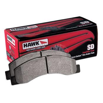 BRAKE PADS - HAWK - SUPER DUTY - REAR  ('01.5-'02, 2500/3500)