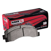 BRAKE PADS - HAWK - SUPER DUTY - REAR  ('01.5-'02, 2500/3500)