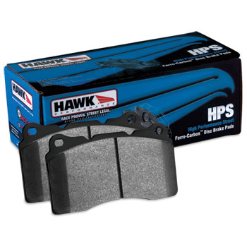 BRAKE PADS - HAWK - HEAVY DUTY - FRONT  ('00-'02,  2500/3500)