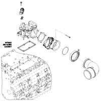 '07.5-'16 Dodge Cummins Intake Horn Gasket
