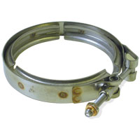 V-BAND CLAMP - EXHAUST DOWNPIPE -TO-CAST ELBOW  ('03-'04, 5.9L)