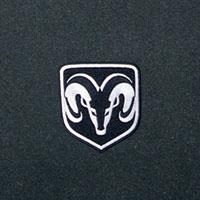 '06-'09 Dodge Ram MOPAR Front Floor Mats - Slate