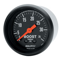 BOOST GAUGE,  35PSI - AUTOMETER - Z SERIES