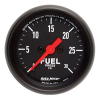 FUEL PRESSURE GAUGE,  30PSI - AUTOMETER (ELECTRIC) - Z SERIES