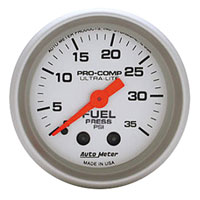 MECHANICAL FUEL PRESSURE GAUGE,  35PSI - AUTOMETER - ULTRA-LITE SERIES