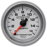 EXHAUST GAS TEMPERATURE GAUGE, 0-1600 DEG - AUTOMETER - ULTRA-LITE II SERIES