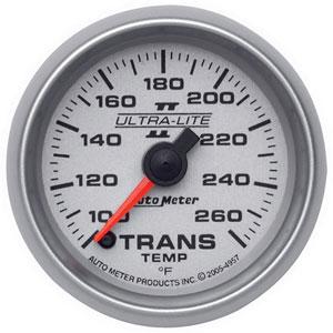 TRANS TEMPERATURE GAUGE, 100-260 DEG (FULL SWEEP) AUTOMETER - ULTRA-LITE II SERIES