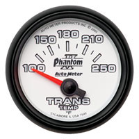 TRANSMISSION TEMP GAUGE (100-250 DEG - SHORT SWEEP) AUTOMETER - PHANTOM II SERIES