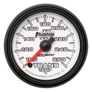 TRANSMISSION TEMP GAUGE (100-260 DEG - FULL SWEEP) AUTOMETER - PHANTOM II SERIES